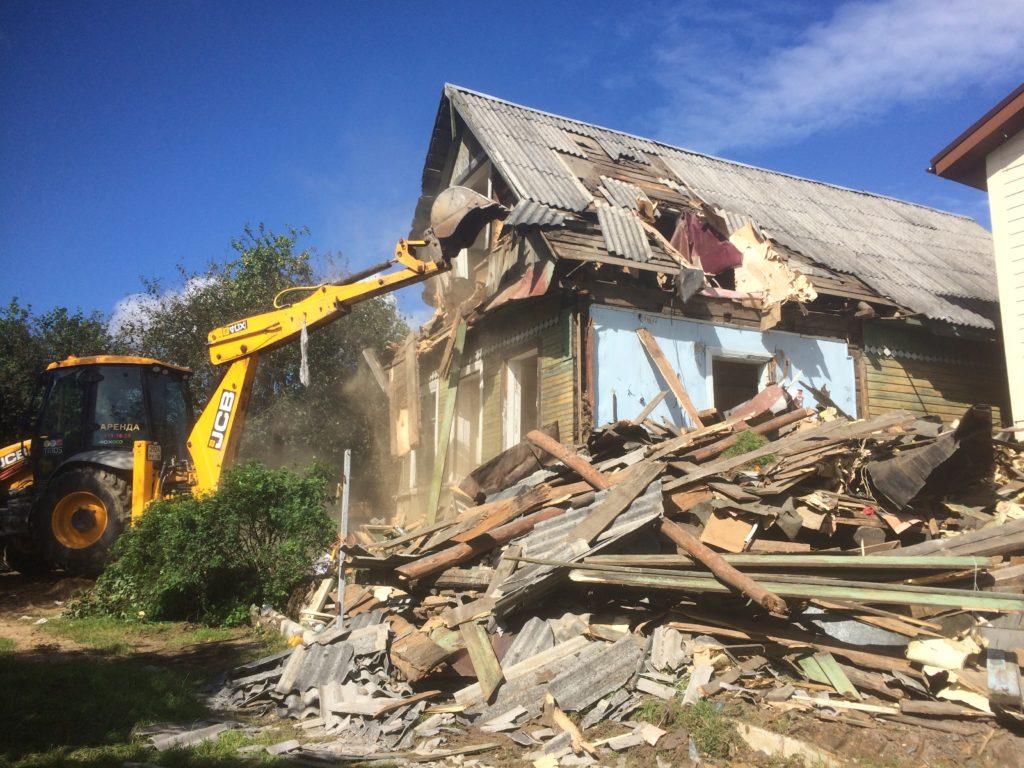 Кто выдает разрешение на снос дачного дома