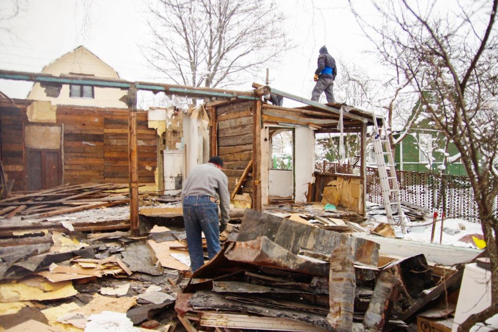 как снести дом в Красноярске