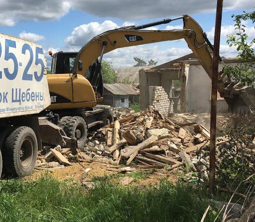 Цены на демонтаж домов с вывозом мусора и без