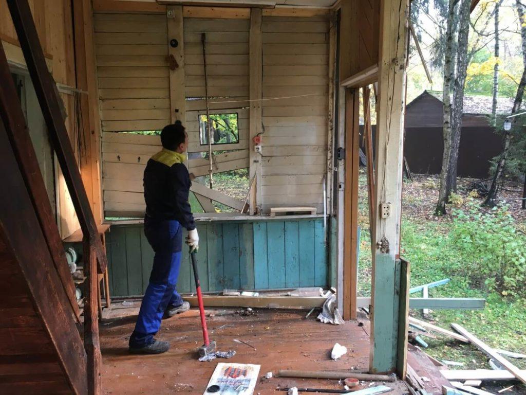 демонтаж зданий в Красноярске